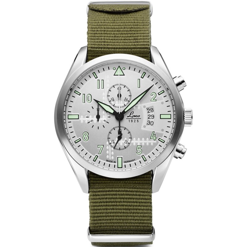 Laco Seattle Chronograph Green 861918