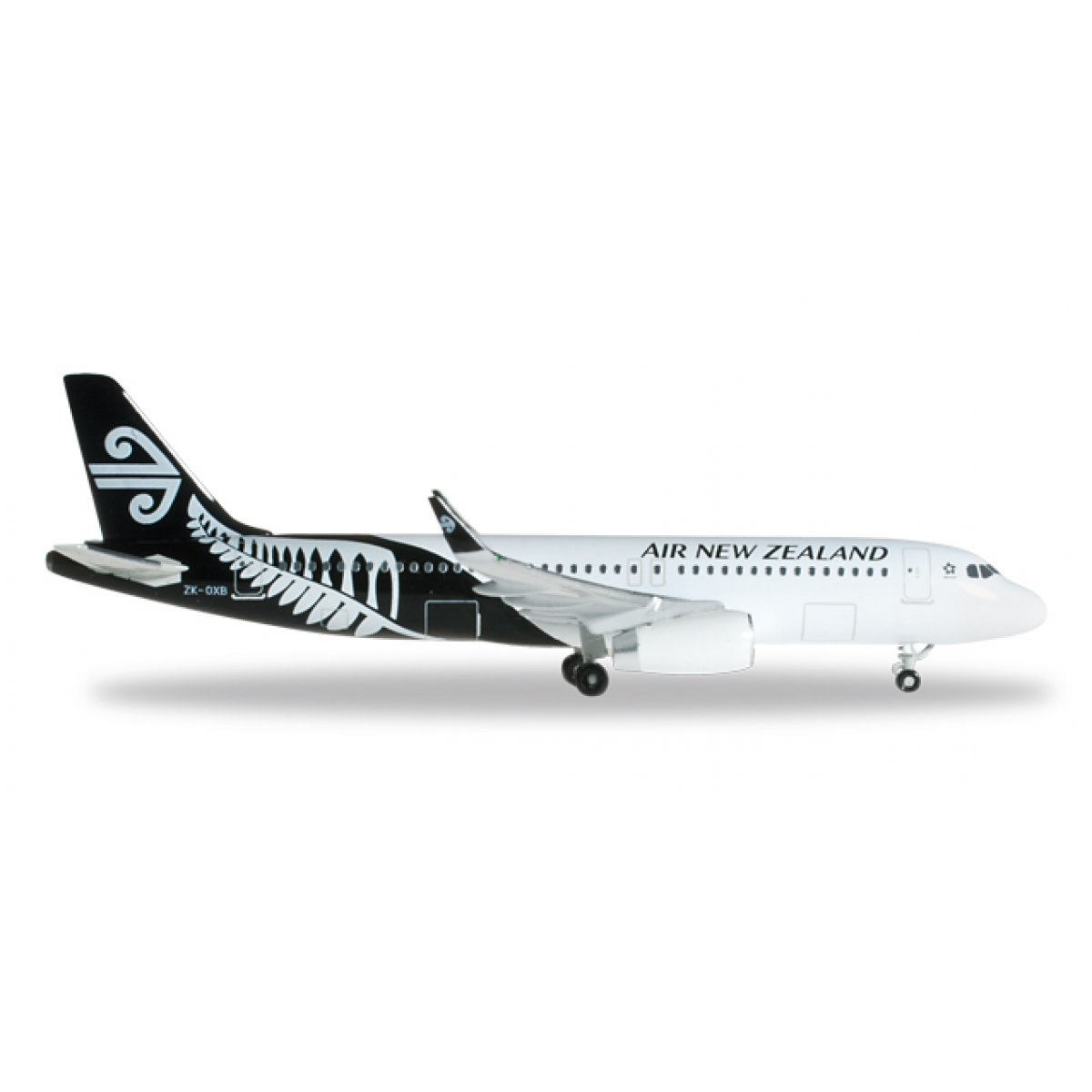Flugzeugmodell Air New Zealand Airbus A320 mit sharklets 1/500
