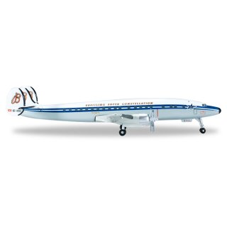 Model Airplane SCFA / Breitling Lockheed L-1049H Super...