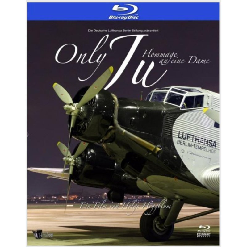 Bluray Film 'Only Ju - Hommage an eine Dame'