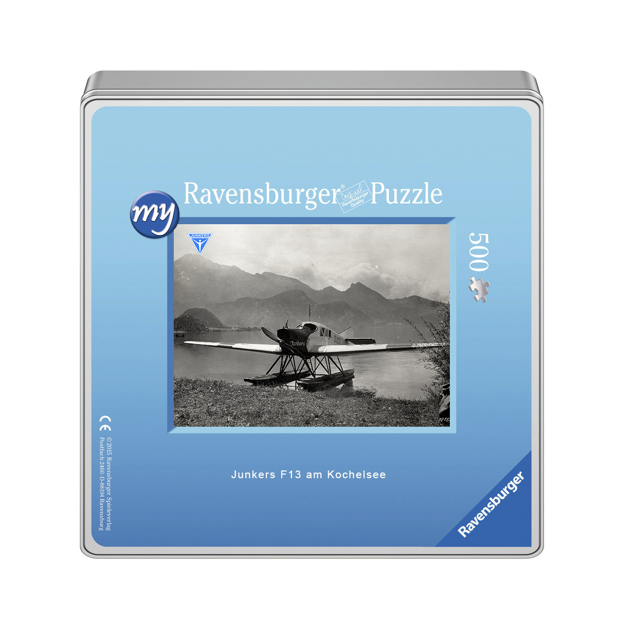 Junkers F13 am Kochelsee Puzzle