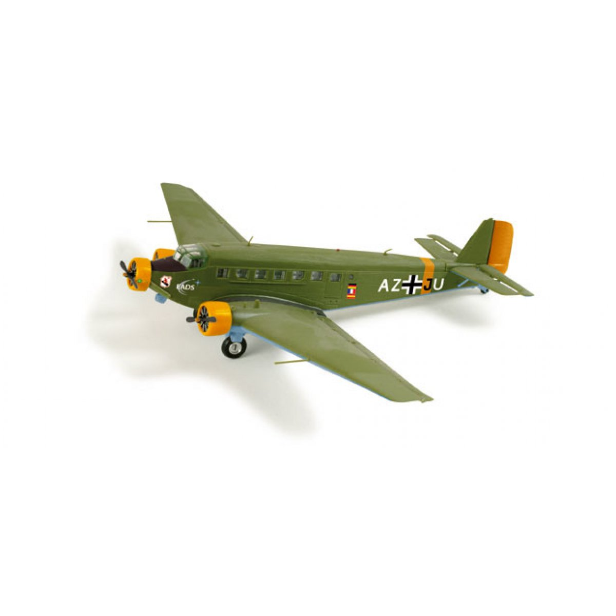 Model Airplane Amicale Jean-Baptiste Sails Junkers Ju-52/3m 1/160