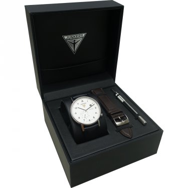 Junkers 6730-1 Series Eisvogel F13 Set with extra leather strap