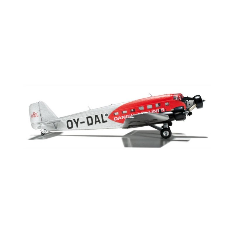Model Airplane DDL Danish Air-Lines Junkers Ju-52 1/160